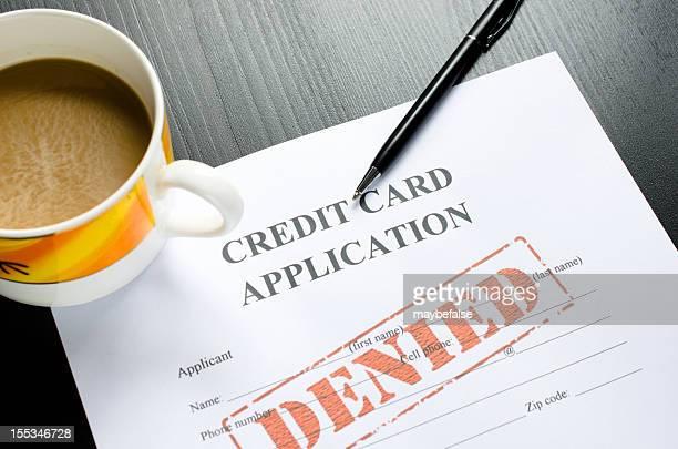 credit card application - denied