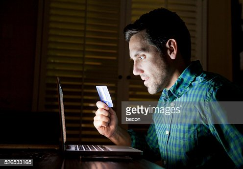 Credit Card Online Laptop Shopper