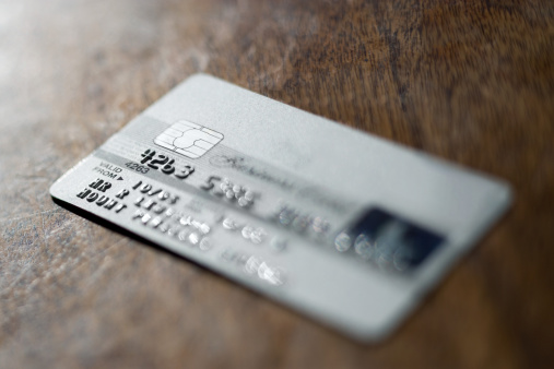 Credit Card On Table Stock Photos and Pictures | Getty Images