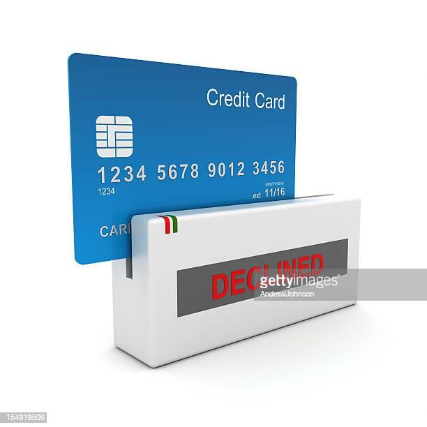 クレジットカードによる購入拒否されました
