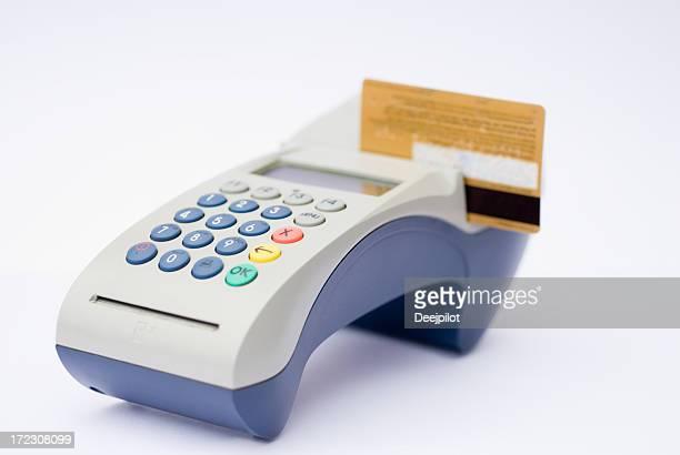terminal de cartões de crédito
