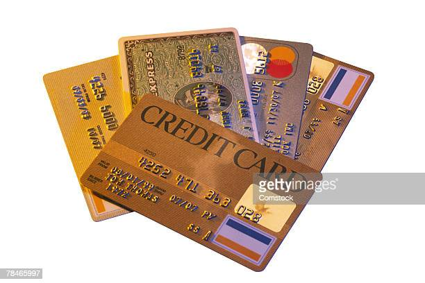 Credit cards represent purchasing power and debt