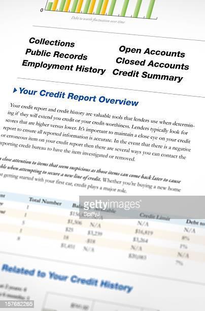 Relatório de crédito