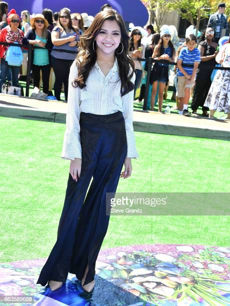 Cree Cicchino arrives at the Premiere Of Sony Pictures' 'Smurfs The Lost Village' at ArcLight Cinemas on April 1 2017 in Culver City California