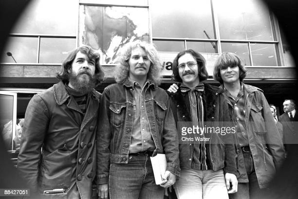 Creedence Clearwater Revival CCR 1970 Doug Clifford Tom Fogerty Stu Cook John Fogerty in London England