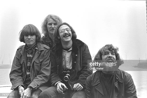 Creedence Clearwater Revival CCR 1970 during Creedence File Photos in London United Kingdom