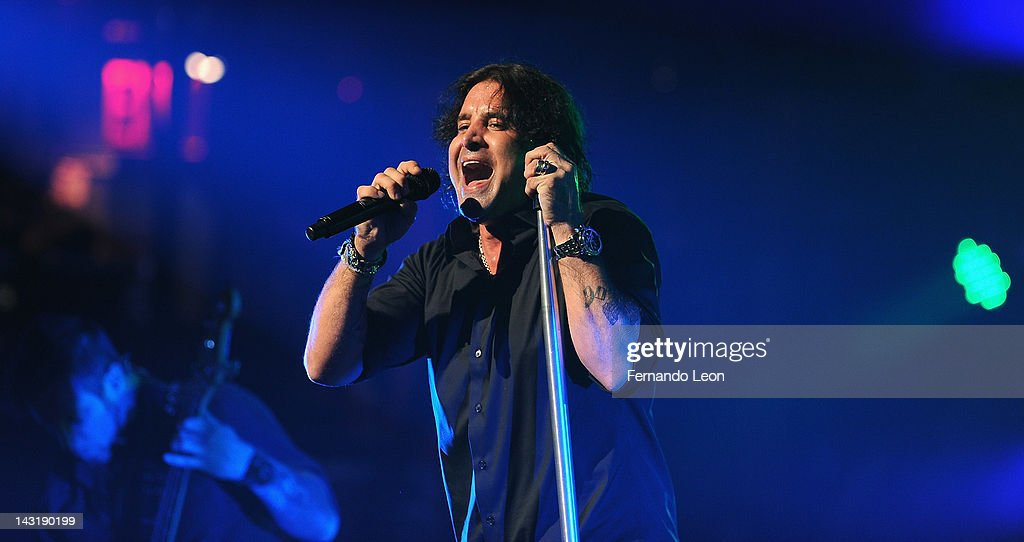 Creed's lead singer <a gi-track='captionPersonalityLinkClicked' href=/galleries/search?phrase=Scott+Stapp&family=editorial&specificpeople=218051 ng-click='$event.stopPropagation()'>Scott Stapp</a> performs onstage at the Beacon Theatre on April 20, 2012 in New York City.