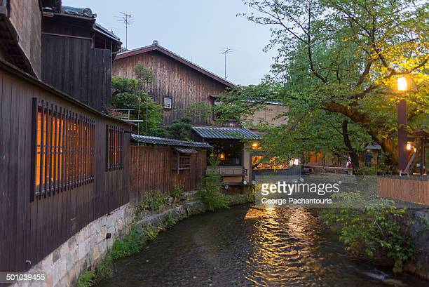 Creek in the Gion district.