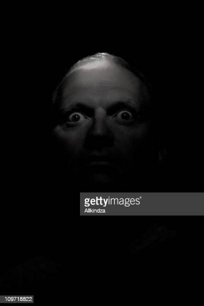 creepy bug eyed dude