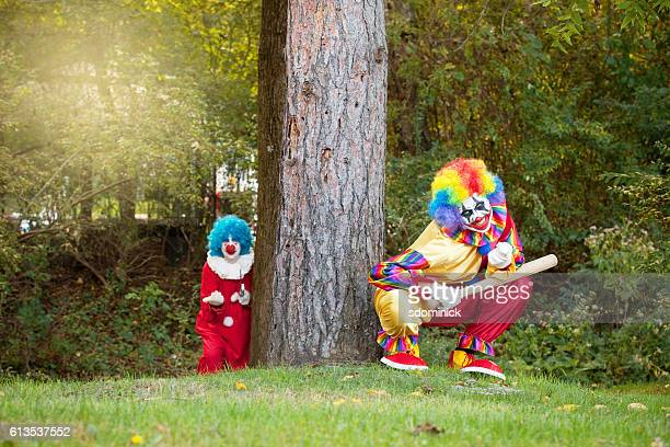 Creepy Clowns Luring People Into Woods