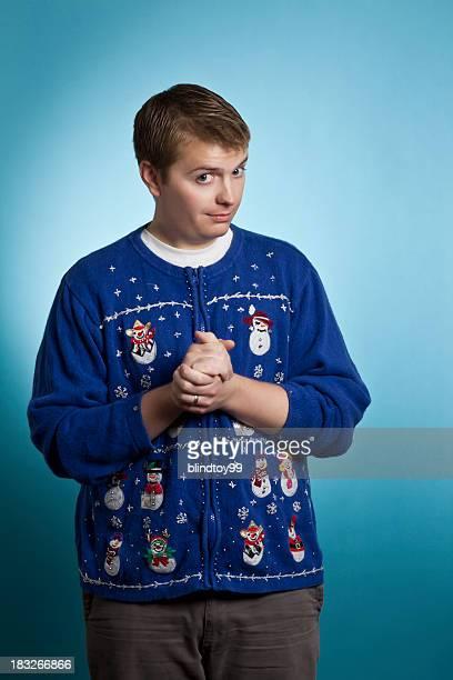 Assustadora camisola Homem