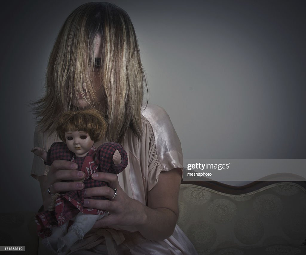 Possessed Creepy Young Girl
