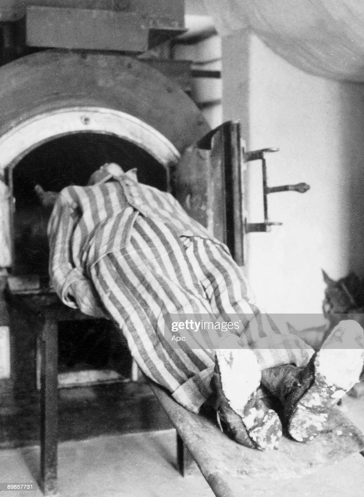 Crematory furnace at natzweiler struthof nazi death camp for Camp du struthof chambre a gaz