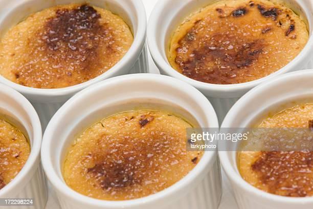 Crème brûlée-Muster