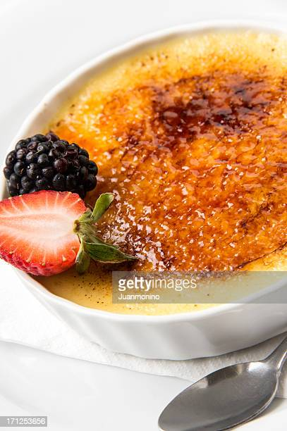 Crème brûlée (crema catalana)