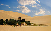 Crescent Lake of Dunhuang