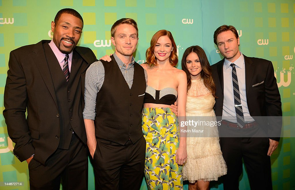 Cress Williams, Wilson Bethel, Jaime King, Rachel Bilson and Scott Porter attend the CW Network's 2012 Upfront at The London Hotel on May 17, 2012 in New York City.