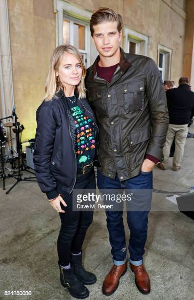 Cressida Bonas and Toby Huntington Whiteley attend Krug Festival 'Into The Wild' at The Grange Hampshire on July 29 2017 in Northington United Kingdom
