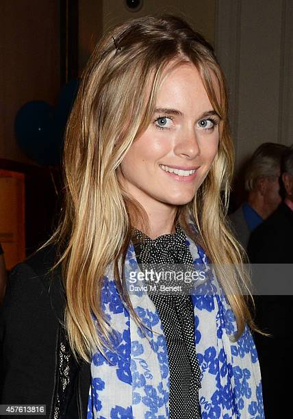 Cressida Bonas attends an after party following the press night performance of 'Neville's Island' at Villandry on October 21 2014 in London England