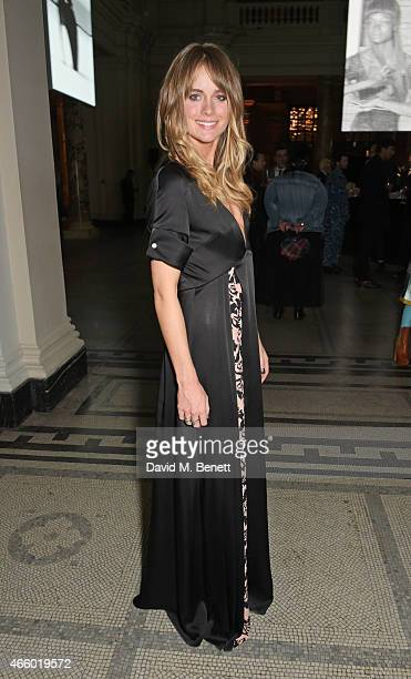Cressida Bonas attends the Alexander McQueen Savage Beauty Fashion Gala at the VA presented by American Express and Kering on March 12 2015 in London...