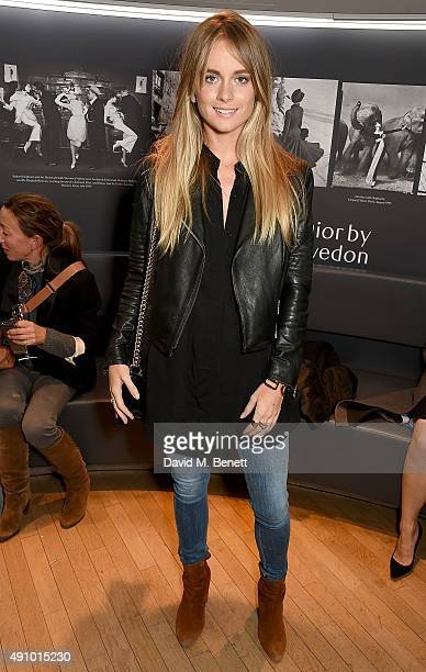 Cressida Bonas attends the 'Dior by Avedon' Book Launch at Collette on October 2 2015 in Paris France