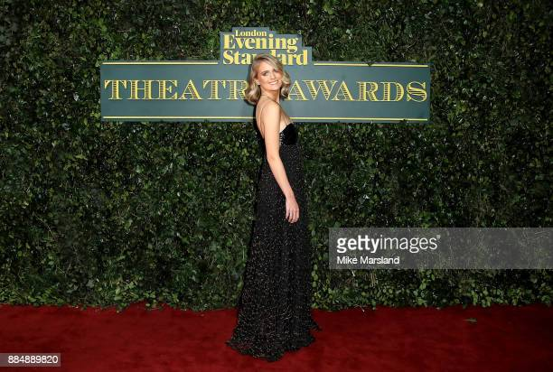 Cressida Bonas attends the London Evening Standard Theatre Awards at Theatre Royal on December 3 2017 in London England