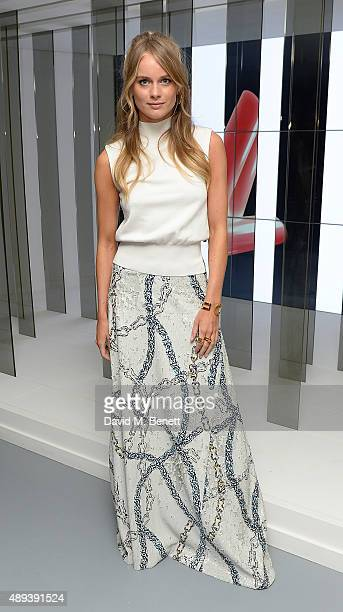 Cressida Bonas attends the Louis Vuitton Series 3 VIP launch during London Fashion Week SS16 on September 20 2015 in London England