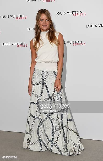 Cressida Bonas attends the Louis Vuitton Series 3 VIP Launch on September 20 2015 in London England