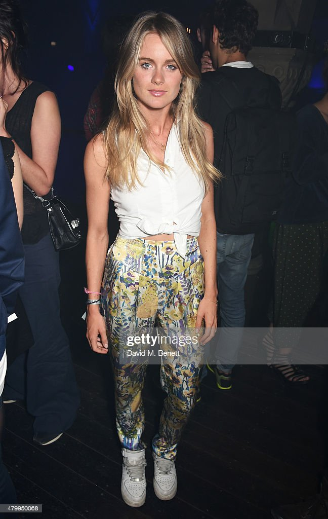 Cressida Bonas attends the Years Years VIP album launch party in association with ASOS at One Mayfair on July 8 2015 in London England