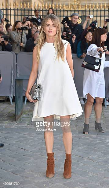 Cressida Bonas is arriving at Dior Fashion Show during the Paris Fashion Week S/S 2016 Day 4 on October 2 2015 in Paris France