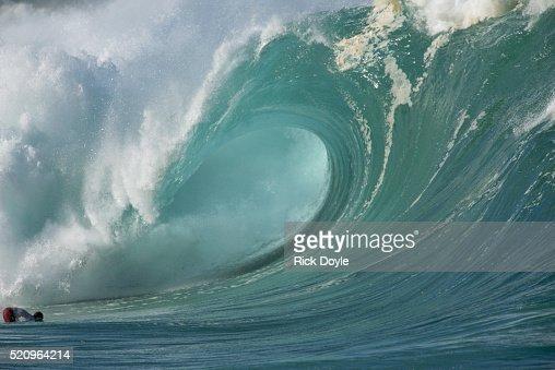 Cresting Blue Wave, Hawaii
