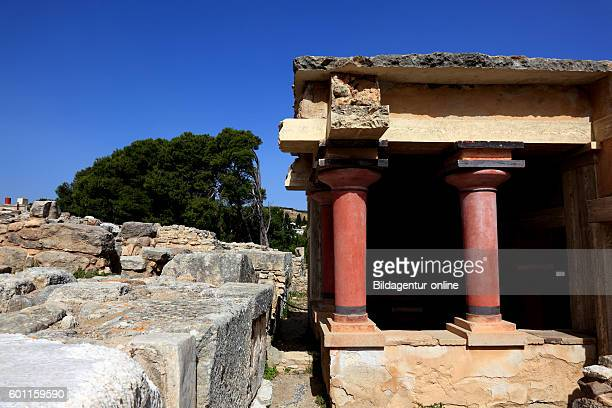 Crete Knossos palace complex of the Minoer North Lustral Basin