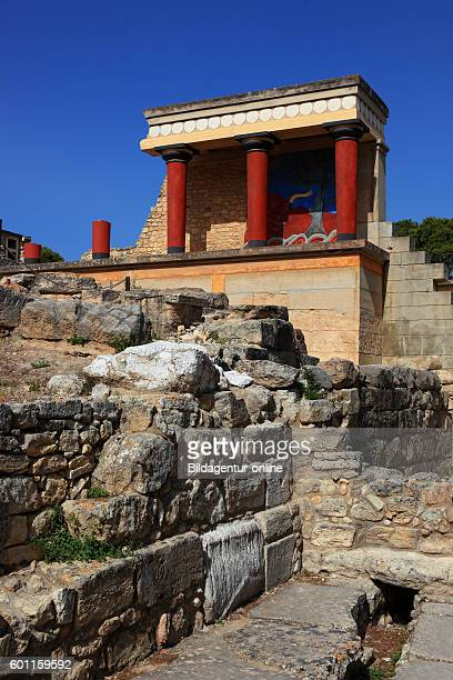 Crete Knossos palace complex of the Minoer the bastion