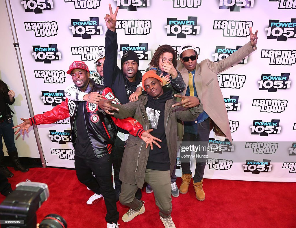 Crew attends Power 1051's Powerhouse 2013 presented by Play GIGIT at Barclays Center on November 2 2013 in New York City