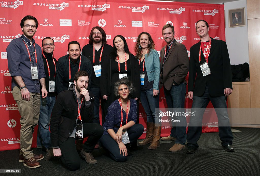 Crew attends the '99% - The Occupy Wall Street Collaborative Film' premiere at Egyptian Theatre during the 2013 Sundance Film Festival on January 20, 2013 in Park City, Utah.