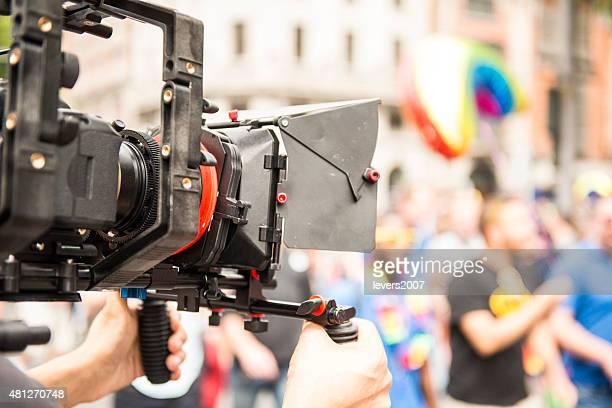 crew Filmen gay pride parade