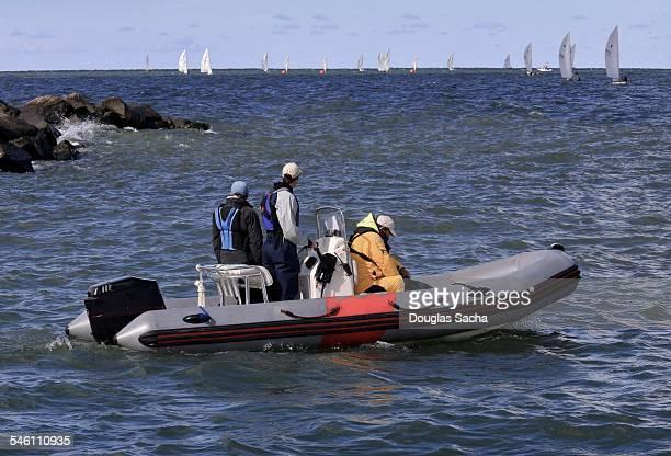 Crew in boat