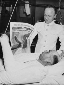 Crew Member Recovering After The Hindenburg S Accident In Philadelphia In Usa