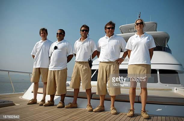 Crew der yacht