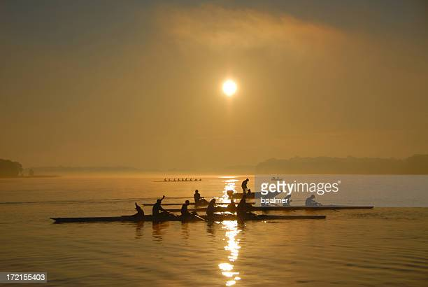 Crew Practice at dawn