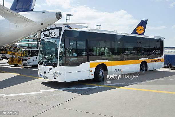 Crewbus de Lufthansa LEOS