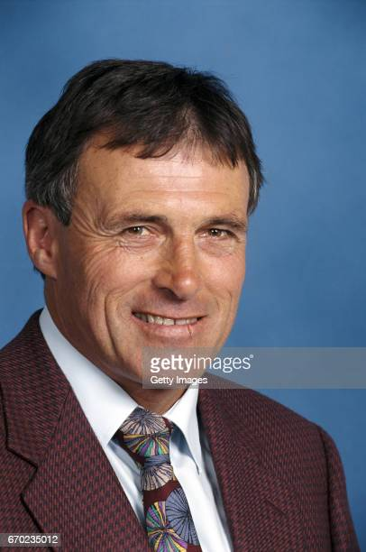 Crewe Alexandra manager Dario Gradi pictured at a Soccerex conference in April 1997 in London England