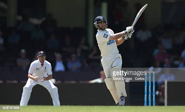 Cricket Australia's Ryan Carters batting at the SCG Sydney Australia Wednesday 13th November 2013 Photo