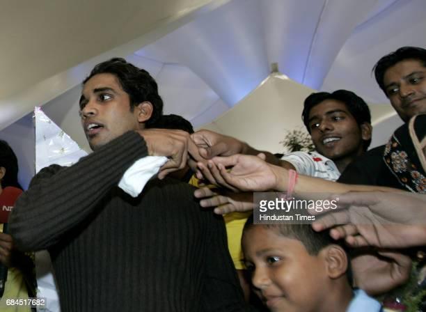 Cricket IPL2 Rajasthan Royal's player Kamran Khan is arrived in Mumbai last Night