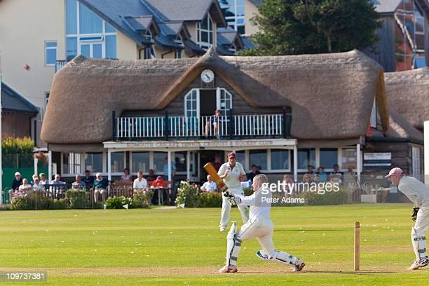 Cricket Match, Devon, England
