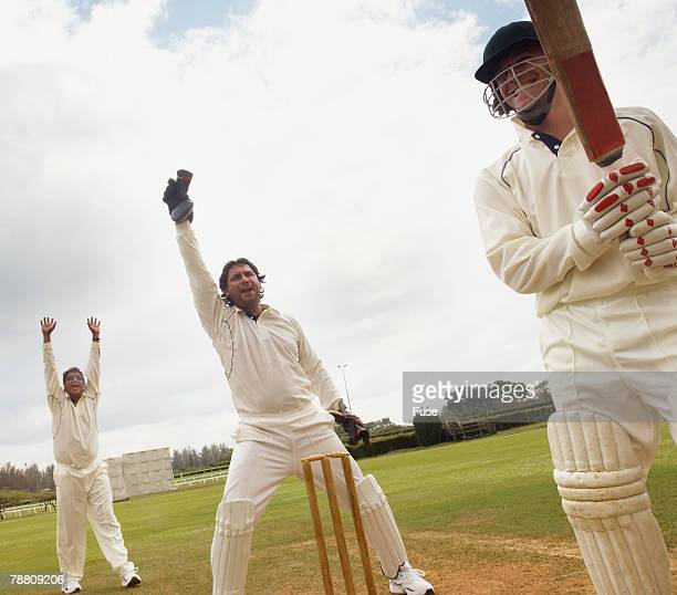 Cricket Team Celebrating