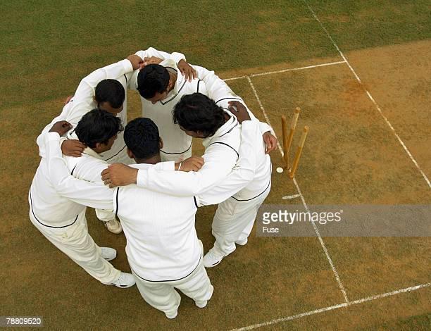 Cricket Team Strategizing
