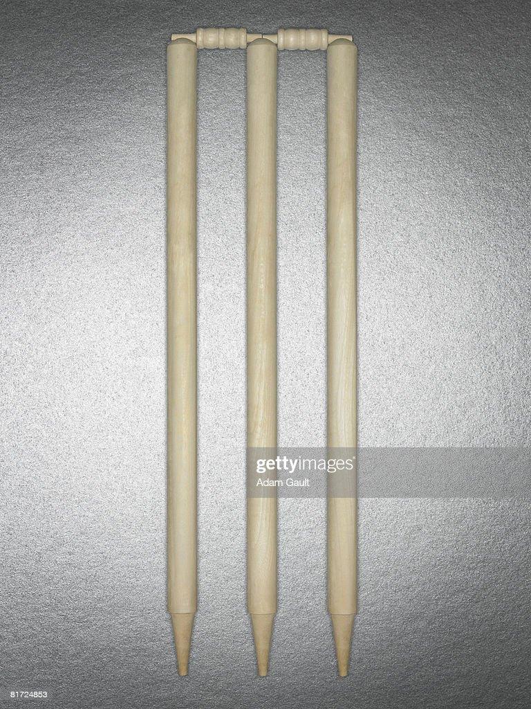 A cricket wicket