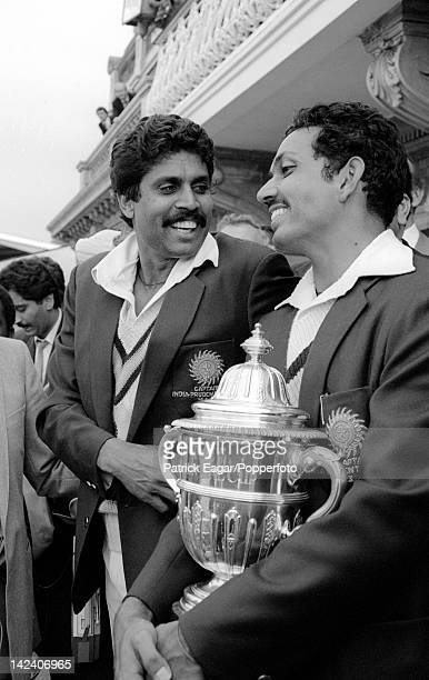 'Cricket World Cup 1983 Final India v West Indies Kapil Dev Mohinder Amarnath and the World Cup 6338720 '