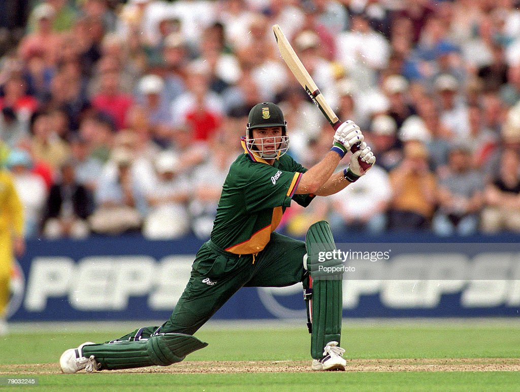 Cricket World Cup Headingley 13th June Australia beat South Africa by 5 wickets South Africa's Herschelle Gibbs batting